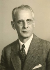 A photo of Dr. Loren R. Chandler, Dean, School of Medicine, 1933-1953