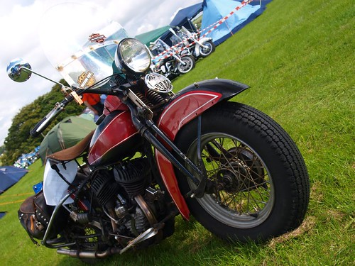 Harley Davidson Motorcycles - 1950