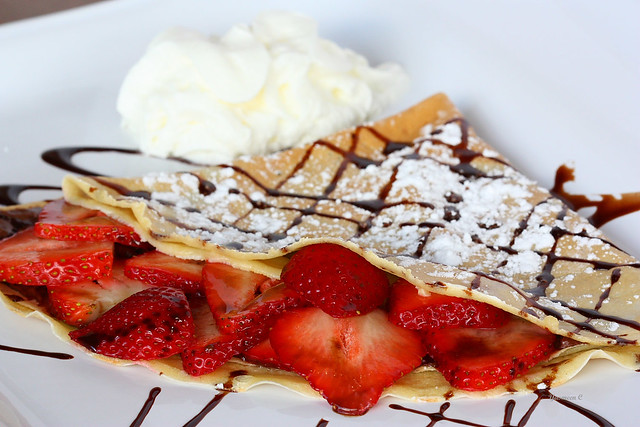 strawberry chocolate crepes | Explore cantik1980's photos on ...