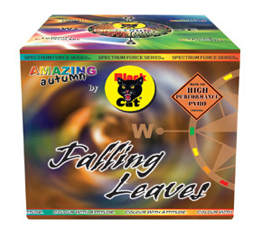 falling leaves by black cat fireworks