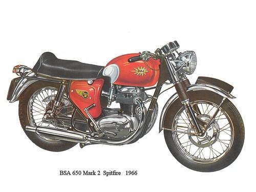 BSA 650 Mark2 Spitfire 1966