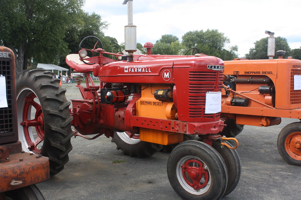 Farmall with a sheppard diesel engine | proteinbiochemist