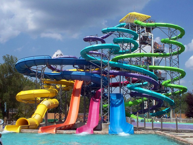 Wildwater Kingdom Thunder Falls Geauga Lake S Wildwater Flickr Photo Sharing