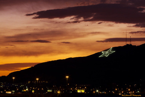 sunset elpaso starcity franklinmountains flickraward