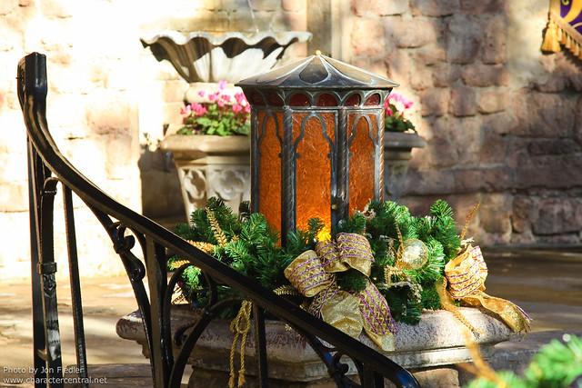 WDW Dec 2010 - A Rapunzelified Fairytale Garden