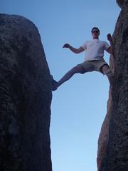 sports(0.0), mountaineering(0.0), rock climbing(0.0), sport climbing(0.0), summit(0.0), ridge(0.0), extreme sport(0.0), terrain(0.0), climbing(0.0), adventure(1.0), mountain(1.0), individual sports(1.0), recreation(1.0), free solo climbing(1.0), outdoor recreation(1.0), rock(1.0), bouldering(1.0), cliff(1.0),