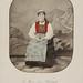 En kone fra Røldal. Bergens Stift.