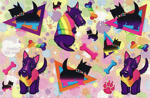 Lisa Frank Scottie Dogs