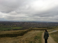 Looking towards Oldham