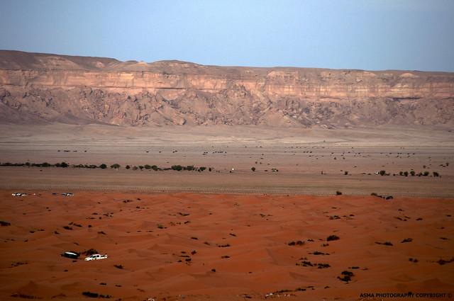 تضاريس الصحراء