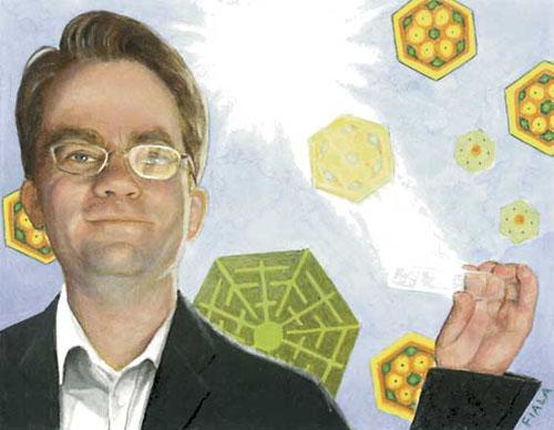 Greg Nielson quiere cubrir cualquier superficie con celulas fotovoltaicas.