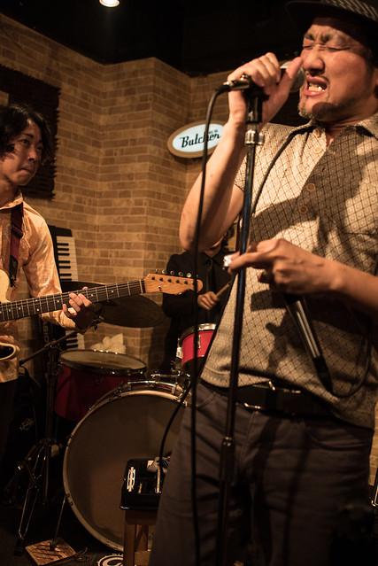 the AstroBluenauts live at Butcher Hachioji, Tokyo, 30 Jun 2017 -00105