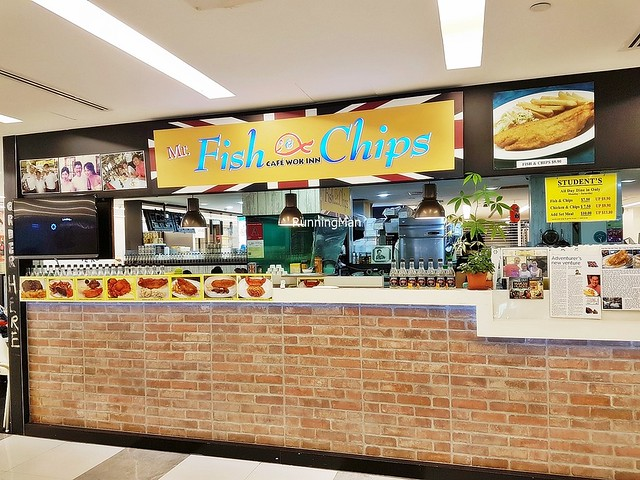 Mr Fish N Chips At Café Wok Inn Facade