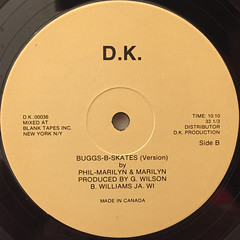 PHIL-MARILYN & MARILYN:BUGGS-B-SKATE(LABEL SIDE-B)
