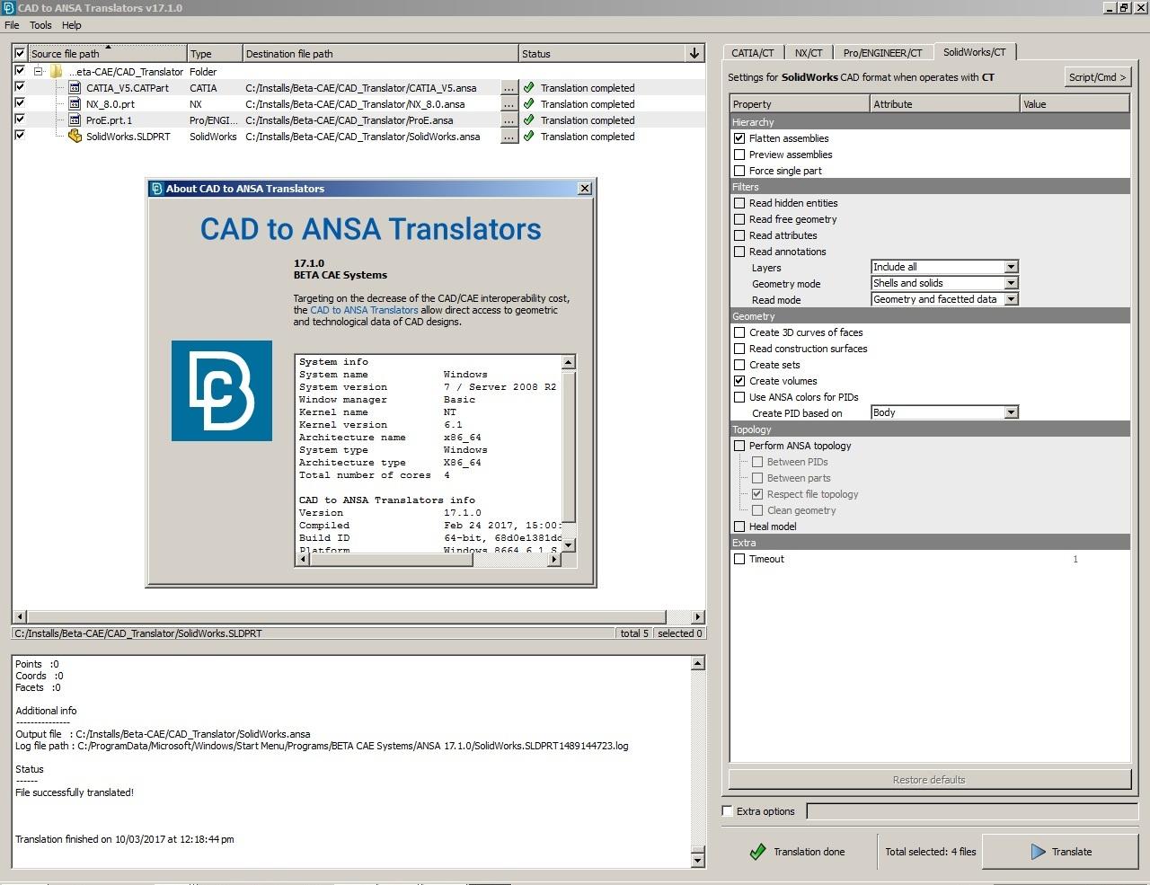 BETA CAE CAD Translator 17.1.0 x64 full crack forever