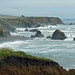 Landscape shots of the coast near Fort Bragg, CA