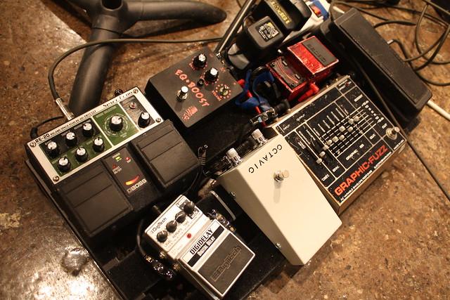 guitar pedal board setup re 20 space echo digitech digide flickr photo sharing. Black Bedroom Furniture Sets. Home Design Ideas