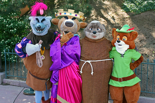 The Sherwood Forest gang pose for our cameras