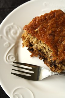 Banana Cake with Chocolate Chips