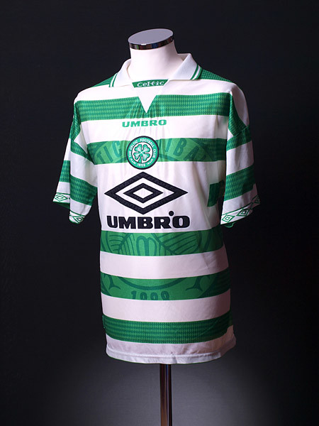 premium selection f5694 5f9d2 Celtic 1997-99 Umbro Home Shirt | Worn in the UEFA Cup first ...