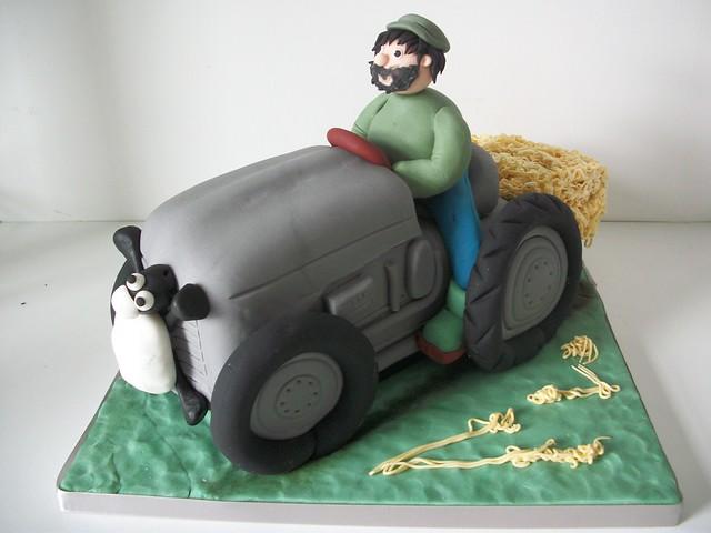 fergie tractor cake | Flickr - Photo Sharing! Fergie