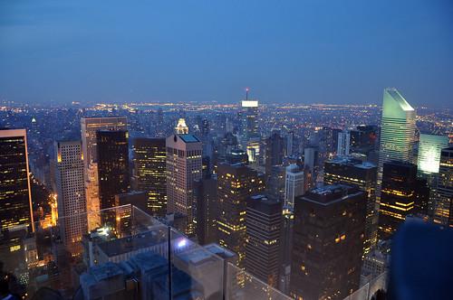 newyorkcity newyork landscape empirestatebuilding topoftherock newyorkatnight newyorkcityatnight