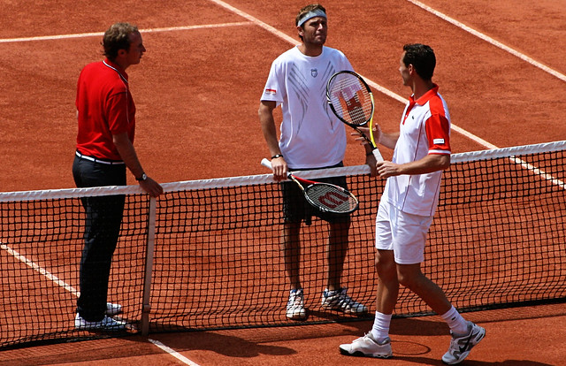 Mardy Fish and Michael Llodra
