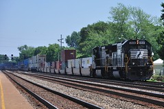 Norfolk Southern Intermodal Freight in Whiting, Indiana
