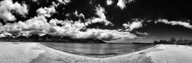 Hanalei Bay Panorama