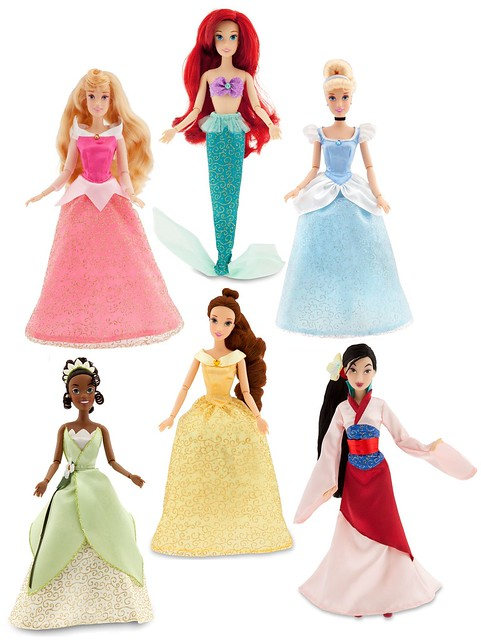 2011 Articulated Disney Princess Dolls
