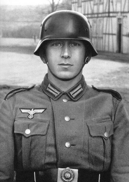 Young Soldier, by August Sander 1940
