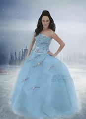 bride, bridal party dress, gown, clothing, aqua, azure, woman, fashion, quinceaã±era, blue, dress,