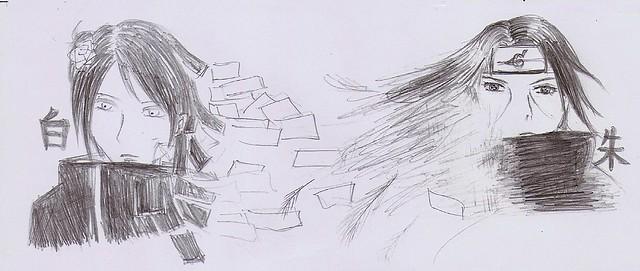 鼬铅笔手绘