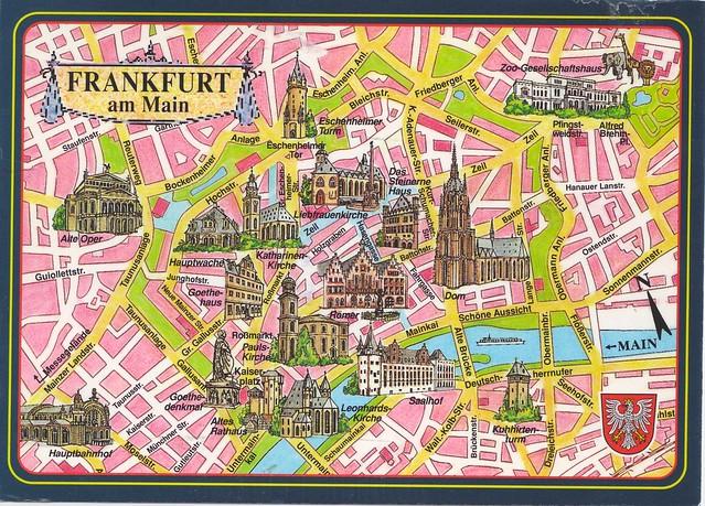 Frankfurt City Map  Flickr  Photo Sharing