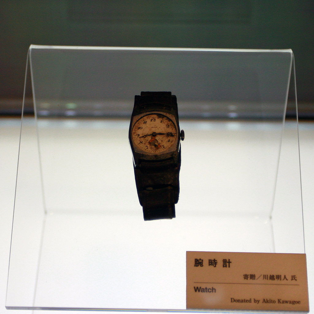 Watch, Hiroshima Peace Memorial Museum