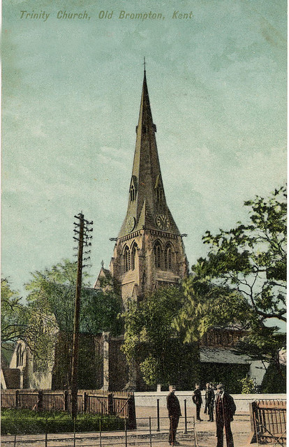 HOLY TRINITY CHURCH, Brompton c 1900 | Flickr - Photo Sharing!