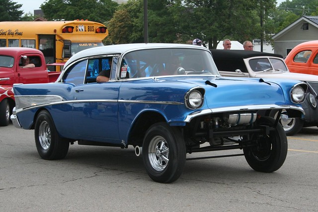 57 Chevy Gasser For Sale http://www.flickr.com/photos/27587130@N02/4780958579/