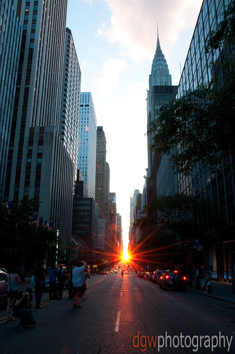 Manhattanhenge - No HDR