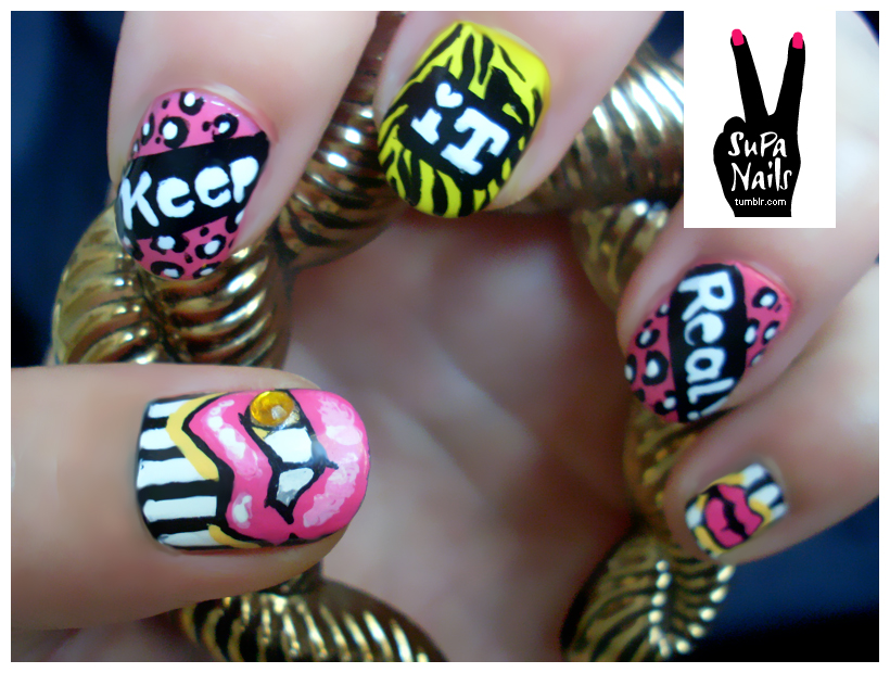 Nail Art Designs Lips ~ the best inspiration for design and color of ...