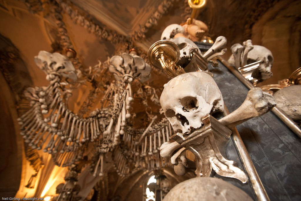 Ossuaire de Sedlec à Kutna Hora près de Prague - Photo de Neil Girling
