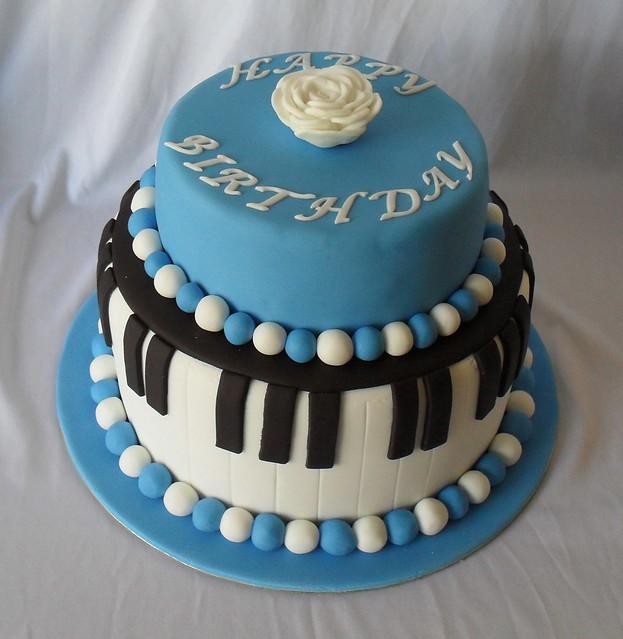 Piano Cake | Flickr - Photo Sharing!
