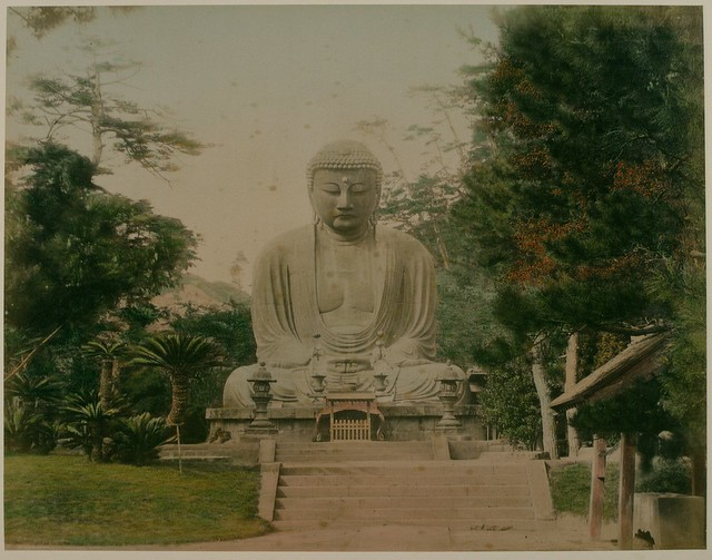Great Buddha of Kamakura, by Tamamura Kozaburo c.1880