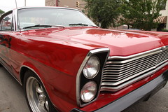 automobile, automotive exterior, vehicle, compact car, antique car, ford galaxie, land vehicle, muscle car,