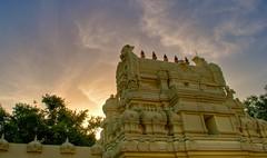 HDR - (Reframed) Sri Meenakshi at Sunset