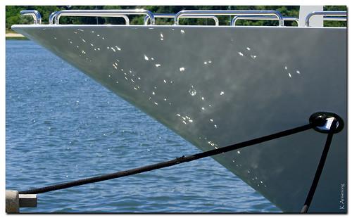 summer vacation newyork reflection longisland bow rails moor sagharbor easthampton southhampton superyacht nikond3000
