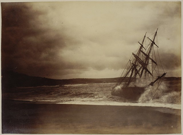 Rough Sea, Saint-Jean-de-Luz, France, anonymous 1870-89