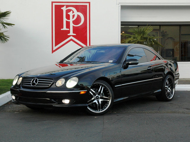 2002 mercedes cl55 amg for Mercedes benz cl55 amg price