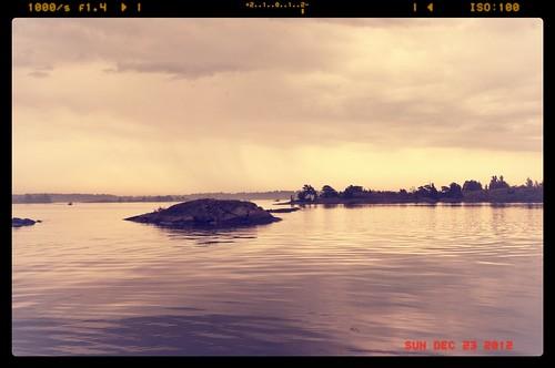 rain sweden archipelago