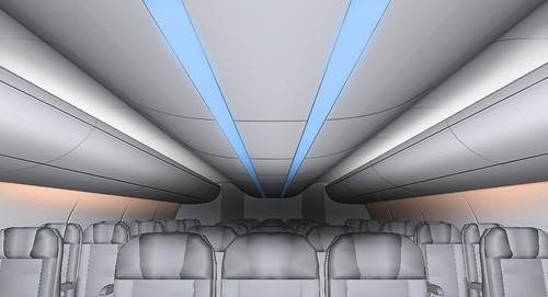 Aircraft interior design a photo on flickriver for Aircraft interior designs