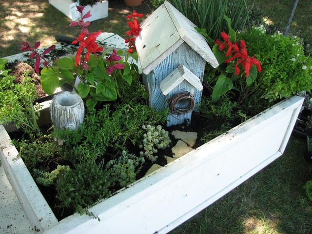 7.17.10 miniature garden